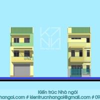 KTNN : 2013-04 Nhà phố 1 trệt, 2 lầu [Nhà ngói]